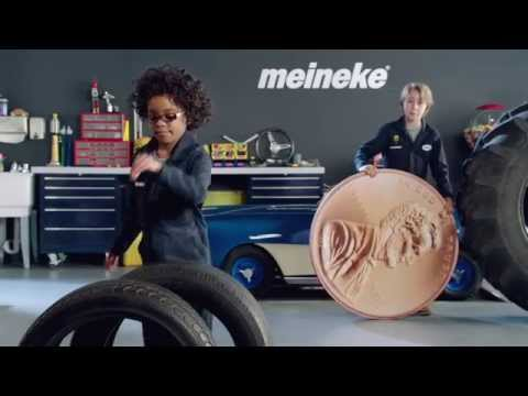 """Penny"" Tires Commercial 2014 │ Kid Mechanics │ Meineke"