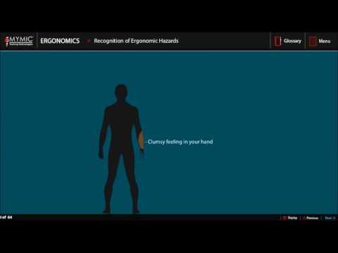 Ergonomics Training   Osha Safety Training   MYMIC
