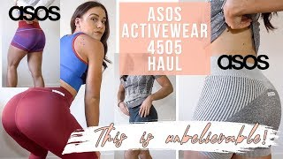ACTIVEWEAR HAUL | ASOS 4505 AFFORDABLE & FLATTERING COLLECTION