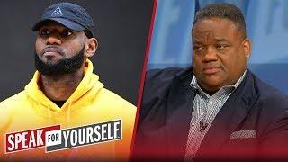 LeBron's AAU antics explain why dysfunction follows him — Jason Whitlock | NBA | SPEAK FOR YOURSELF