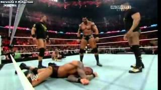 super and great R.K.O to CM PUNK 2011