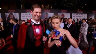 Live from the Red Carpet of 'Avengers: Age of Ultron'