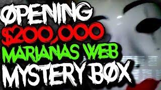 Buying $200,000 Marianas Web Mystery Box.. (CREEPY)