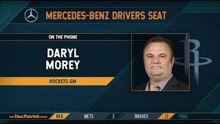 Rockets GM Daryl Morey Talks CP3/Harden Tension & More w/Dan Patrick | Full Interview | 6/18/19
