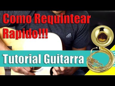 Como Aumentar Velocidad y Tocar Mas Rapido en La Guitarra / Requinto Tutorial