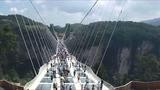 Glass Bridge Zhangjiajie Tianmen Mountain