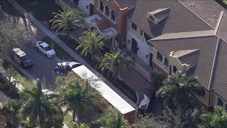 Officers investigate battery outside of Antonio Brown's home