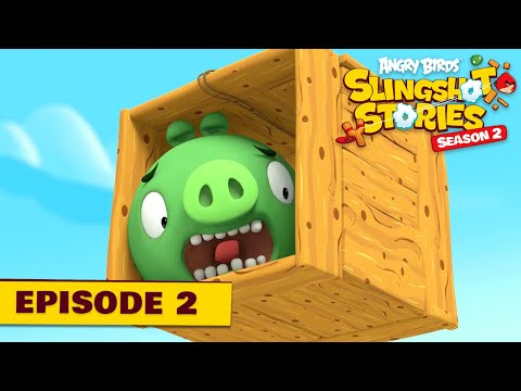 Angry Birds Slingshot S2.2 - Prasatá zachránarí