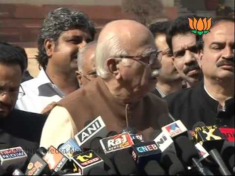 Karnatka Issue: Sh. L. K. Advani: 24.01.2011
