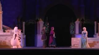 08/11/2016 English Inside #DisneyParksLIVE: A Frozen Holiday Wish   Walt Disney World