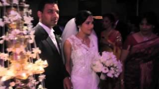 Anushka & Chaminda's Wedding in Borella, Sri Lanka