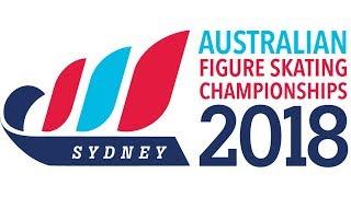 F07 Advanced Novice Ladies Short Program   2018 Australian Figure Skating Championships