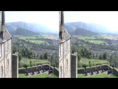Scotland Stirling Castle 3D