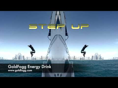 GOLD FOGG Energy drink ''LIVE YOUR WAY''