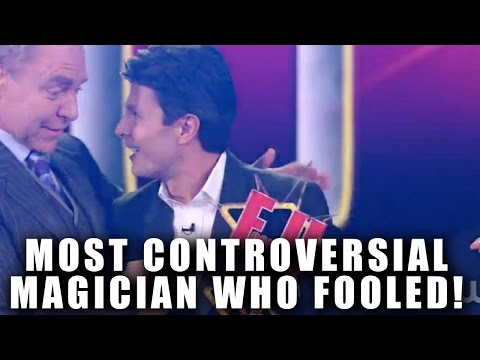 PENN AND TELLER MOST CONTROVERSIAL MAGICIAN WHO FOOLED!