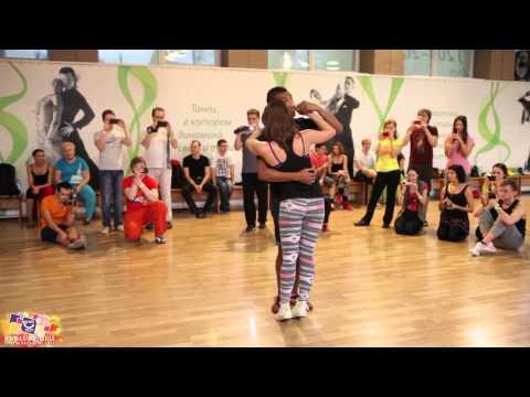 Musicality in kizomba from Max Kumashev & Helen Karukova @ Yut Kizomba Fest 2013.11.24