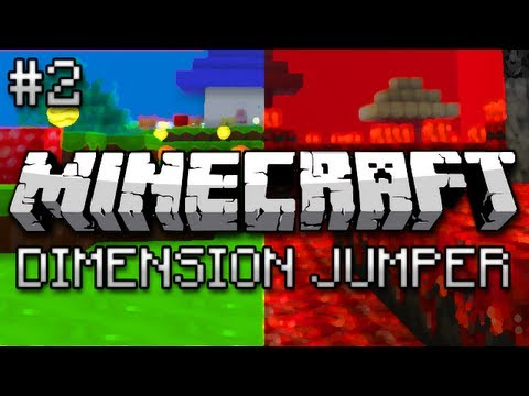 Minecraft: Dimension Jumper Part 2 - Interdimensional Parkour - Smashpipe Games