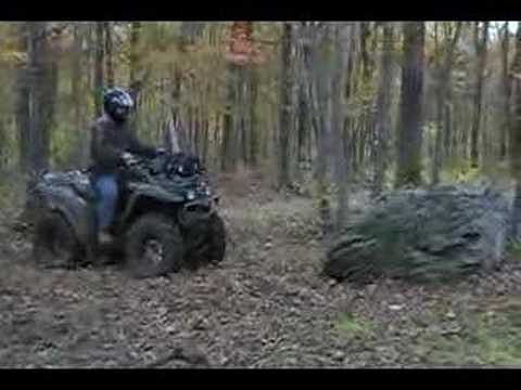 """Woahooo""  ATV rock climb"