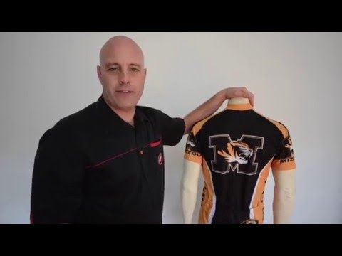 Missouri Tigers Mizzou Cycling Jersey by Adrenaline Promotions