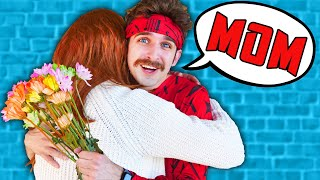 DANIEL FOUND HIS MOM! Surprising My Friends Mother with a Lie Detector Test Challenge for 24 Hours!