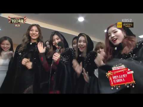 [ENG] TWICE X BTS INTERVIEW | MINHO & SEJEONG MC | KBS Gayo Daechukje 2016