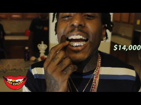 Sauce Walka shows off over $140,000 worth of jewelry!