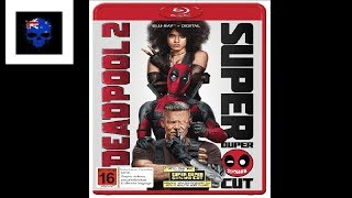Deadpool 2 Blu-Ray Unboxing