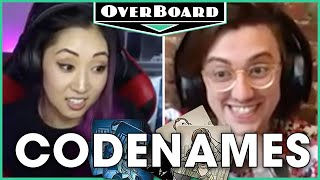 Let's Play CODENAMES! feat. Mari Takahashi | Overboard, Episode 21