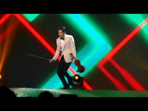170703 Henry Lau solo violin @Thailand Headlines Person of the year 2016-2017
