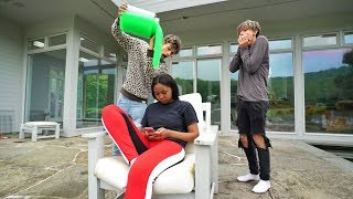 SLIME PRANK ON EX-GIRLFRIEND!