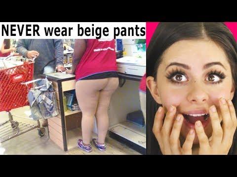 Hilarious Fashion Fails You Won't Believe !