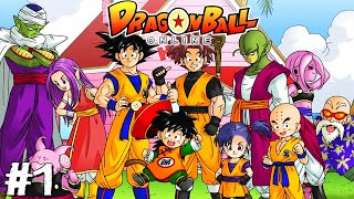 Dragon Ball Online (Dragon ball MMO) - PART 1 - Welcome To The Future