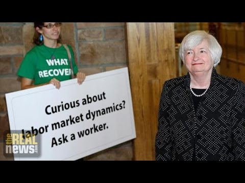 Fed Chair Signals Possible Policy Shift On Unemployment