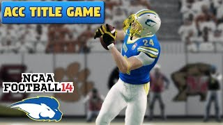 ACC CHAMPIONSHIP Hofstra vs Clemson | Ep. 100!!! | NCAA Football 14 TeamBuilder Dynasty