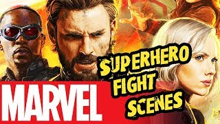 Before Avengers: Infinity War | Best Marvel Superhero fight scenes