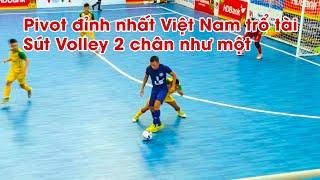 THY FREESTYLE đi xem MINH TRÍ thi đấu bóng đá ghi bàn đẳng cấp PRO, PIVOT FUTSAL đỉnh nhất Việt Nam