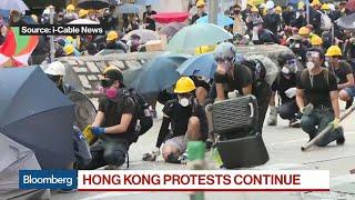 La huelga general en Hong Kong altera el tráfico, el metro y los aeropuertos