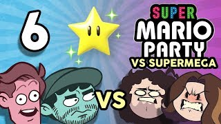 Super Mario Party VS SuperMega: lol random - PART 6 - Game Grumps VS