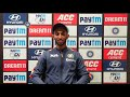 Prasidh Krishna addressed a virtual press conference after the second Paytm ODI against England