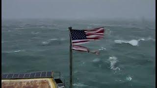 El huracán Florence se acerca a las costas de Carolina del Norte y del Sur, en EE.UU.
