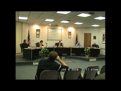 Rouses Point Village Board Meeting  1-5-09