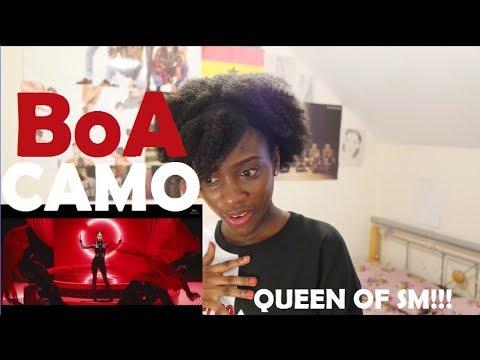 BoA - CAMO MV REACTION (DANCING QUEEN!)