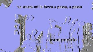 Pino Cariati - 'sa strata mi la fazzu a passu, a passu