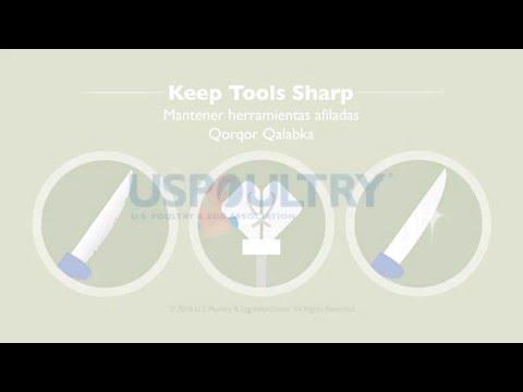 Keep Tools Sharp - English, Spanish, Somali