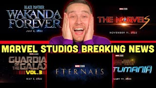 Eternals First Look, Black Panther Wakanda Forever, & More Marvel Movie News!