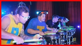 Amazing Percussion Theatre perform LMFAO Party Rock Anthem