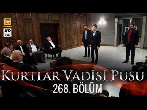 Kurtlar Vadisi Pusu (268.Bölüm) | 22 Ekim Son Bölüm 720p Full HD Tek Parça İzle