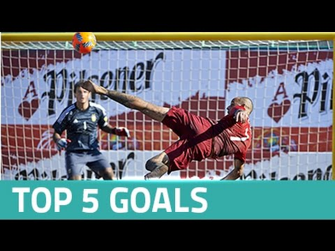 Top 5 goals - Copa Pilsener Futbol Playa 2016