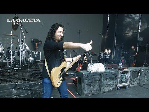 El guitarristas tucumano Daniel Amani tocará un tema con Maná