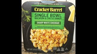 Cracker Barrel Single Bowl Macaroni & Cheese Dinner: Sharp White Cheddar Review